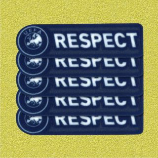 UEFA Respect Champion League Patch Football Soccer X 5 sets