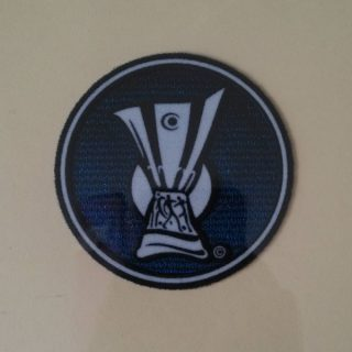 UEFA Cup 2004-2009 Sleeve Soccer Patch / 3D Flock Badge