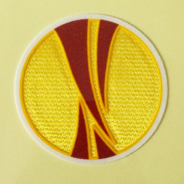 UEFA Cup 2009-2013 Sleeve Soccer Patch /3D Flock Badge