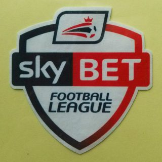 SkyBet Football League 2013-2014 Sleeve Soccer Patch / Badge