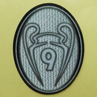 BAYERN 9 TIMES CHAMPIONS LEAGUE WINNERS TROPHY PATCH BADGE PARCHE LOGO TOPPA