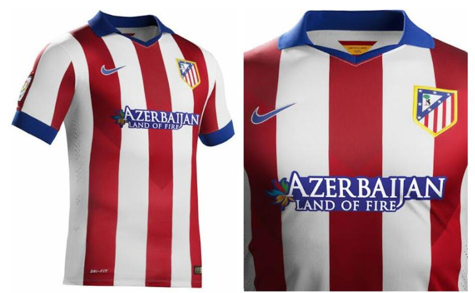 New Atletico Madrid 2014-15 Home Kit Leaked