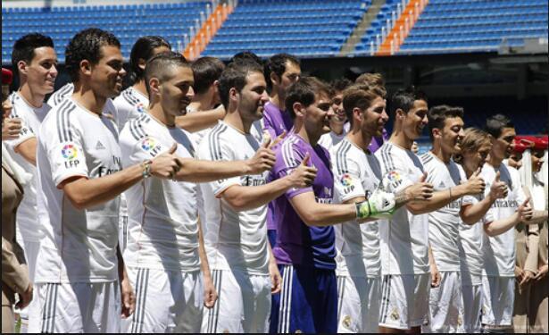 Real Madrid Salaries 2013-2014