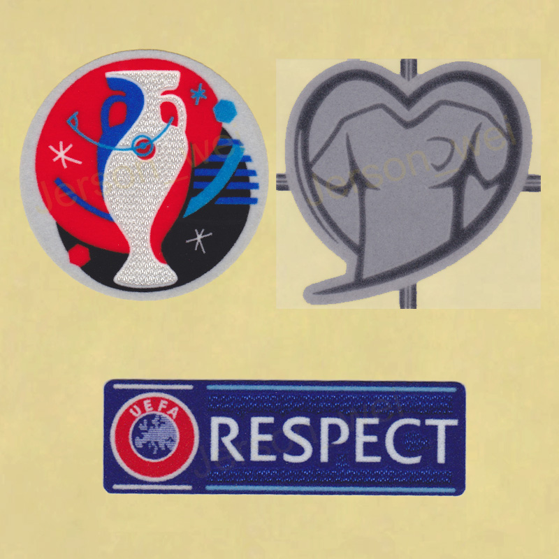 5136856d642 UEFA EURO 2016 Qualifiers Football Soccer Play Respect Jersey Shirt Patch  badge – Timix Patch