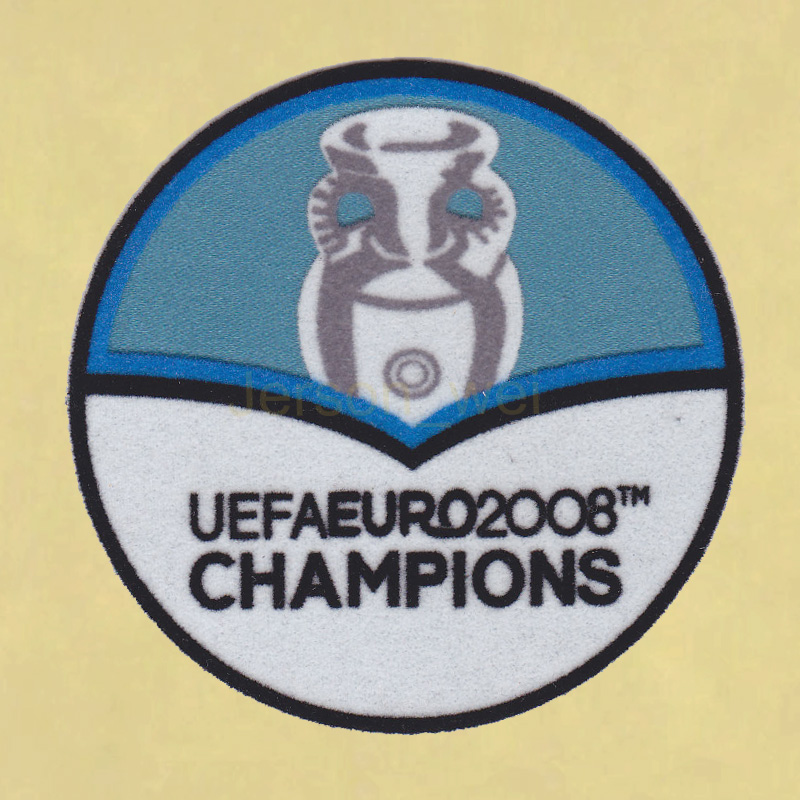 UEFA Euro 2012–2008 Champions Spain Football Sleeve Soccer Patch