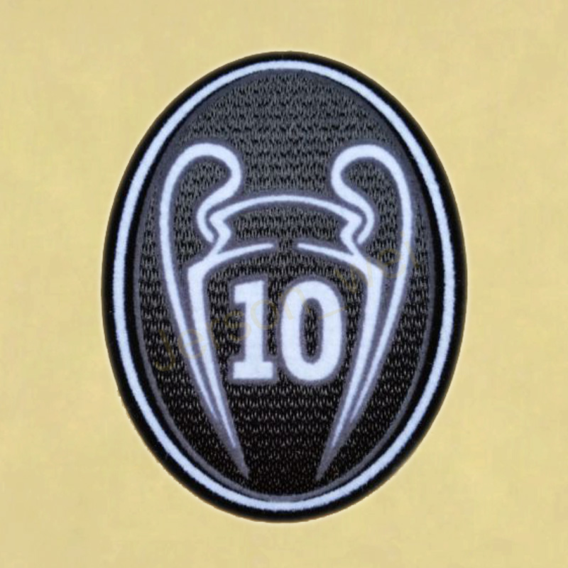 Trophy UEFA 10 TOPPA  Champions Patch / League TOPPA Times