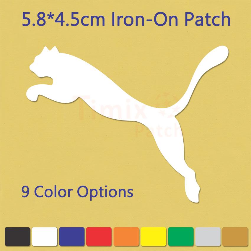 Puma Iron On Heat Sports Logo Diy T Shirt Clothing Vinyl
